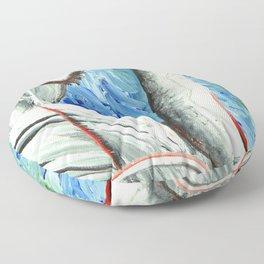 The Swan Floor Pillow