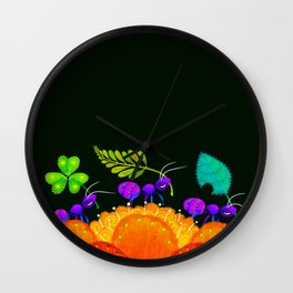 Delivery Ants Wall Clock
