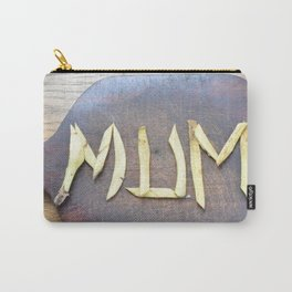 Mother's Day design with banana skin. Carry-All Pouch
