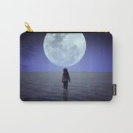 Moon alk Carry-All Pouch