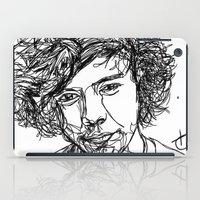 harry styles iPad Cases featuring Harry Styles by Hollie B