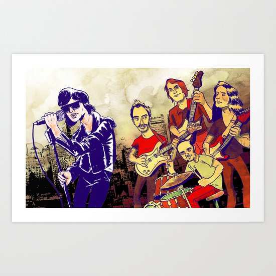 """Comedown Machine"" by Dmitri Jackson Art Print"
