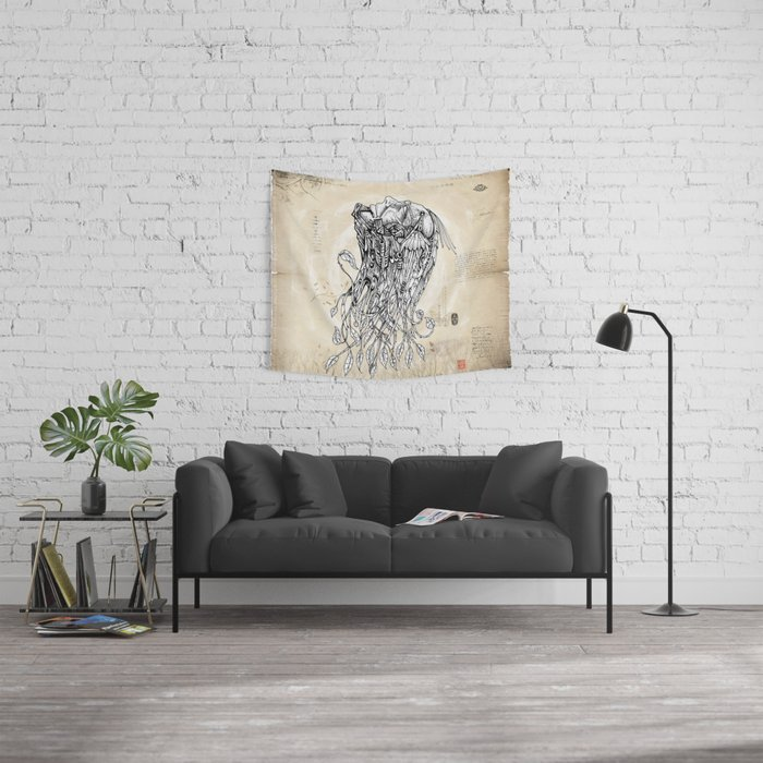 Live Leaf Wall Tapestry