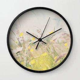 lazy hazy summer days ... Wall Clock