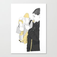 Call Girls Canvas Print