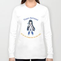 workout Long Sleeve T-shirts featuring Satsuki Workout by LadyInverse