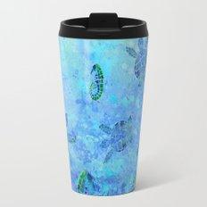 Sea Turtle Batik Travel Mug