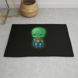 Chibi Martian Manhunter Rug