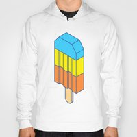 popsicle Hoodies featuring Popsicle by Haitham Almayman