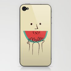 Summer smile iPhone & iPod Skin