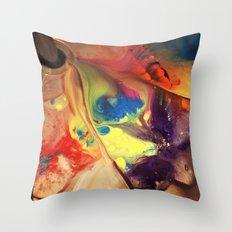 beautiful mess Throw Pillow