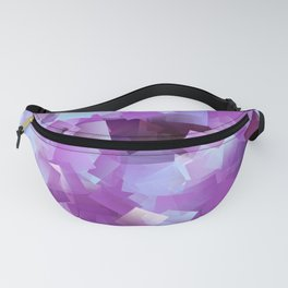 Lilacs And Blue Skies Cubed Fanny Pack