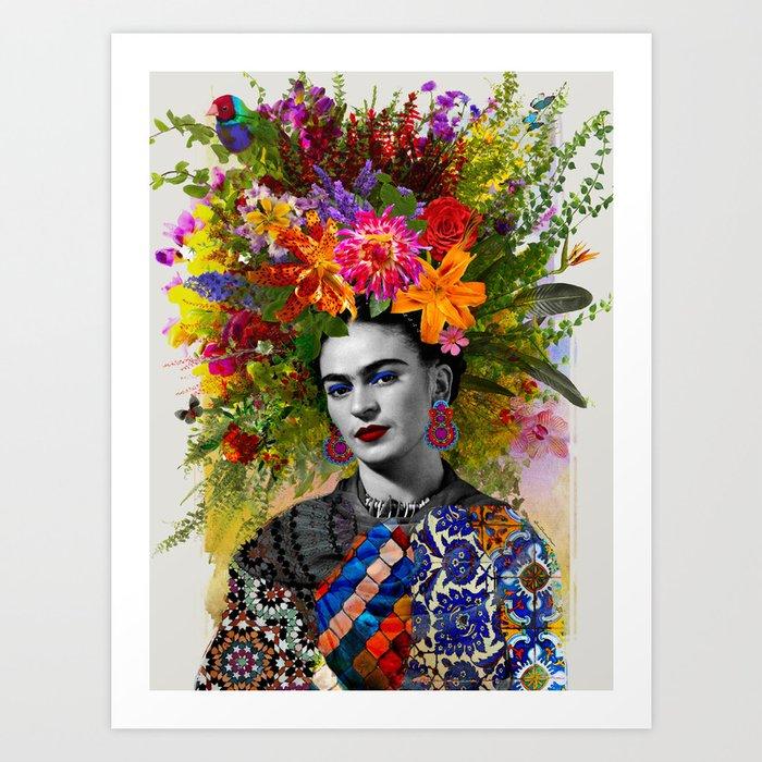 Gitana Frida Kunstdrucke