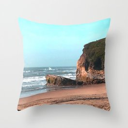 stand. Throw Pillow