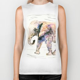 elephant queen - the whole truth Biker Tank