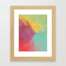 Geometric XI Framed Art Print