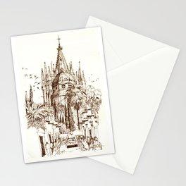 Cathedral, San Miguel de Allende Stationery Cards