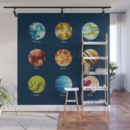 Away from Home and Back - dark Wall Mural