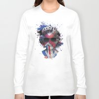 deadmau5 Long Sleeve T-shirts featuring Queen Listen Music by Sitchko Igor