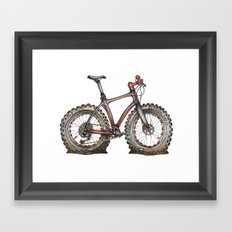 Fat Fat Framed Art Print