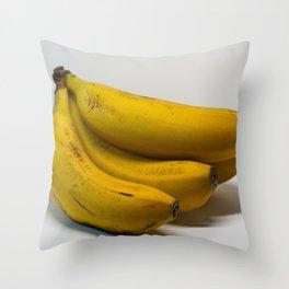 Banana Clear Throw Pillow