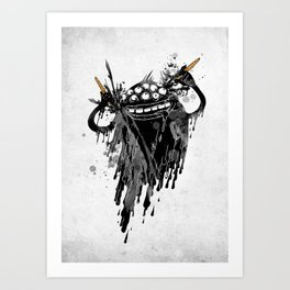 Monsta.Ink! Art Print