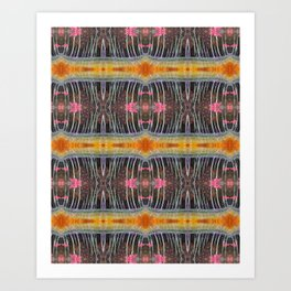 Magic mangrove forest Art Print