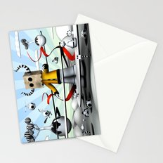 The Paparbag Monster Stationery Cards