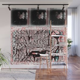 Eleven Stranger Upside Downs Wall Mural