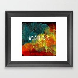 WAYLAYERS // WEIGHTLESS Framed Art Print