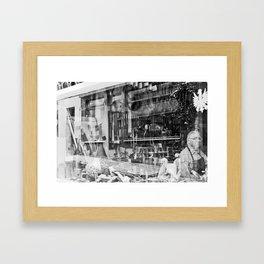 Il liutaio  Framed Art Print