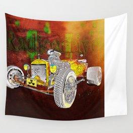 Radioactive Rod Wall Tapestry