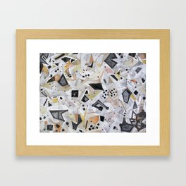 One, Two,Three. . . Six Degrees of Connection With Daimoku Framed Art Print