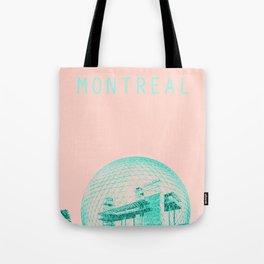 Montreal Biosphere Pastel Tote Bag