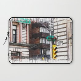 The corner of 15th street and market Laptop Sleeve