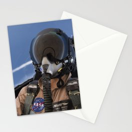 123. Photographer Carla Thomas on a Supersonic Flight Stationery Cards