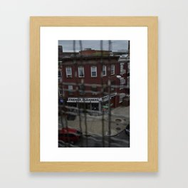 French Cleaners. Framed Art Print