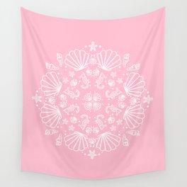 PinkMermaid Wall Tapestry