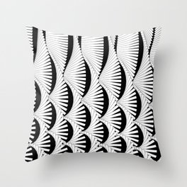 Garland Square Throw Pillow