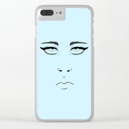 Eye Roll Clear iPhone Case