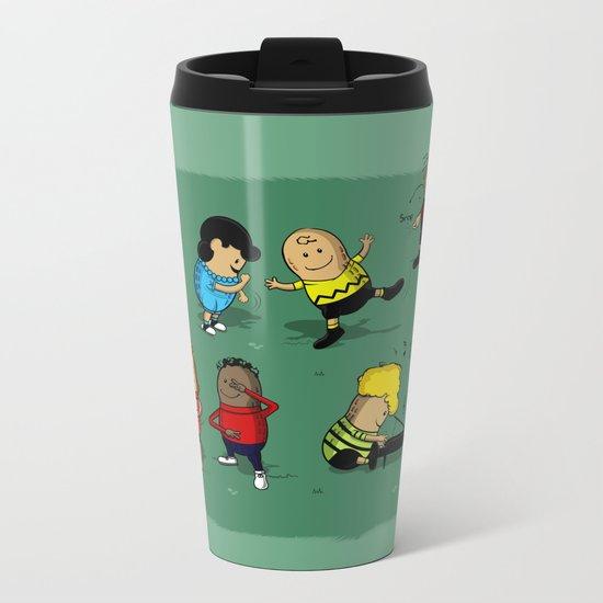 Juts Peanuts!! Metal Travel Mug
