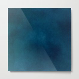 Blue-Gray Velvet Metal Print