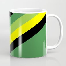 V-lines Green style Mug