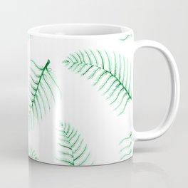 Herbs and Leaves: Ferns Coffee Mug