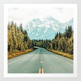 Road Trip #photography #travel Art Print