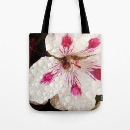 Flowers in the Summer Rain Tote Bag