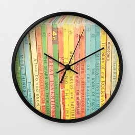 Storytime  Wall Clock