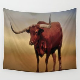 Texas Longhorn  Wall Tapestry