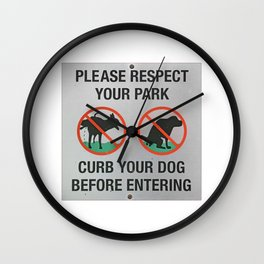 please respect Wall Clock