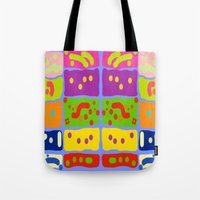 matisse Tote Bags featuring Palettes of Matisse by Zoya Kraus